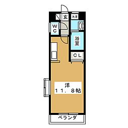 M CHATELET[4階]の間取り