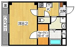 東沂荘[3階]の間取り