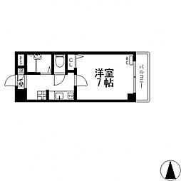 カサベルデ小阪[604号室号室]の間取り
