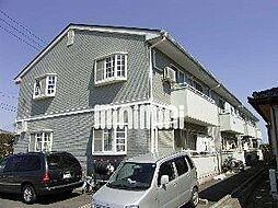 ローレンスパークB[2階]の外観