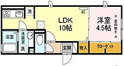 (仮)D-room府中市緑町[1階]の間取り