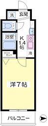 フォレステージ桜川3階Fの間取り画像