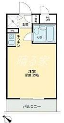ハイネスプラザ新宿5[103号室]の間取り
