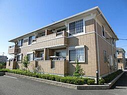 愛知県清須市春日中河原の賃貸アパートの外観