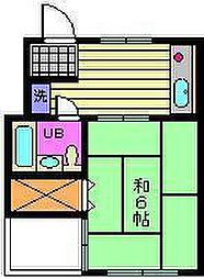 プリエールマンション[2-A号室]の間取り