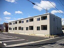 愛知県江南市前飛保町緑ケ丘の賃貸アパートの外観
