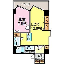 ダイアパレス栄公園[3階]の間取り