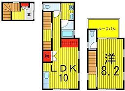 [一戸建] 東京都足立区西綾瀬3丁目 の賃貸【/】の間取り