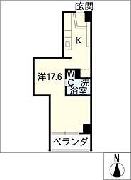 FLATS GAZERY[6階]の間取り