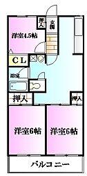 FREA鵠沼壱番館(フレアクゲヌマイチバンカン)[1階]の間取り