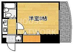 ラフォーレ円町[301号室号室]の間取り