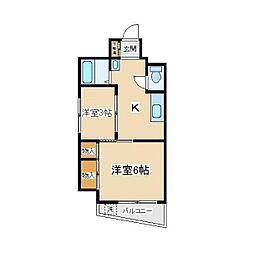 ふじよしビル[3階]の間取り