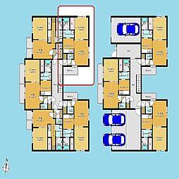 札幌市営南北線 北12条駅 徒歩8分の賃貸マンション 3階1DKの間取り