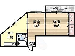 土師ノ里駅 4.0万円