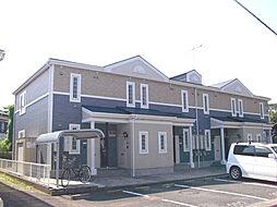 神奈川県秦野市南矢名の賃貸アパートの外観