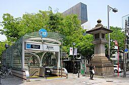 駅表参道駅まで...