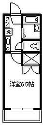 東京都府中市朝日町1丁目の賃貸アパートの間取り