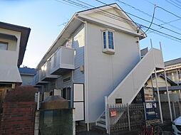 千葉県松戸市八ケ崎緑町の賃貸アパートの外観