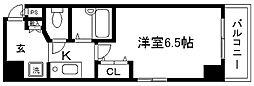 プレサンス京都烏丸御池[802号室]の間取り
