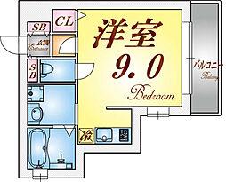 ハイマート須磨[105号室]の間取り