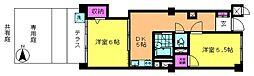 桜台フラワーホーム[1階]の間取り