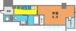 クレアール神戸[6階]の間取り