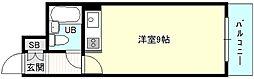 マイルド新大阪レジデンス3号館[4階]の間取り