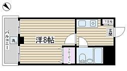 第一金井ビル[302号室]の間取り