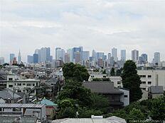 6階バルコニーからの見晴らしの良い眺望です