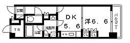 エル・セレーノ上本町レジデンス(C´タイプ)[12階]の間取り