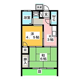 入曽駅 4.5万円