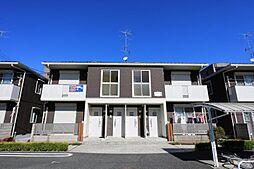埼玉県川口市西立野の賃貸アパートの外観