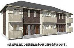 愛媛県松山市古川北1丁目の賃貸アパートの外観