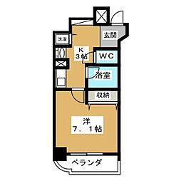 ランドマークシティ京都烏丸五条[7階]の間取り