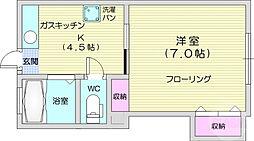 北山駅 2.5万円