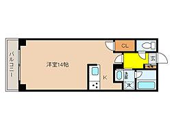 イルシオンド芦屋[3階]の間取り