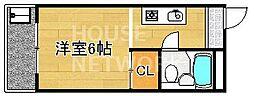 銀閣COZYハイツ[405号室号室]の間取り