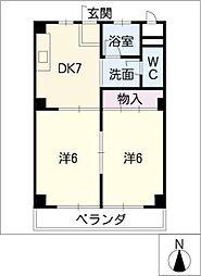 メゾン本郷[3階]の間取り