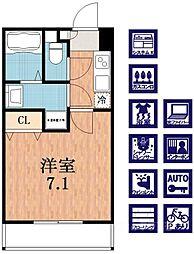 H-maison加美正覚寺II[1階]の間取り