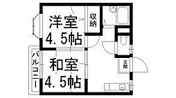 ペントハウス11[0302号室]の間取り