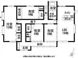 [一戸建] 宮崎県小林市北西方 の賃貸【/】の間取り