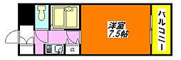 サイレストSB 303号室[3階]の間取り