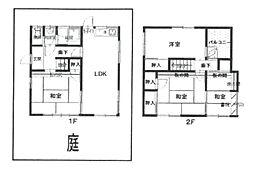 [一戸建] 兵庫県伊丹市行基町3丁目 の賃貸【/】の間取り