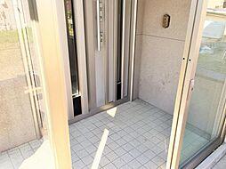 風除室付き玄関