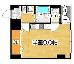 35北堀江(スリーファイブ)[2階]の間取り