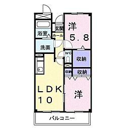 ツナトリ・マンション[0103号室]の間取り