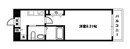 ウインズコート新大阪[1階]の間取り