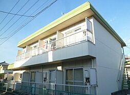 東京都あきる野市平沢の賃貸マンションの外観