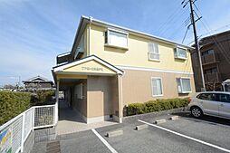 兵庫県宝塚市中筋7丁目の賃貸アパートの外観