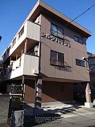 シルクハイツB[2階]の外観